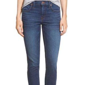 Madewell High riser crop jeans
